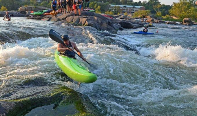 James River POP UP SLALOM pt. II | Hollywood