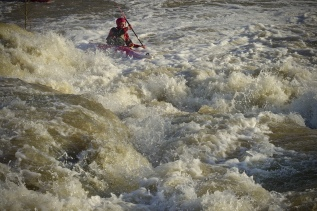 James River POP UP SLALOM! |Deception